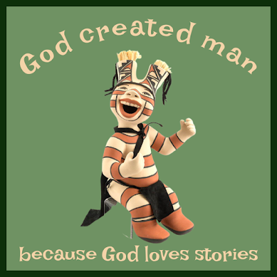 God loves stories