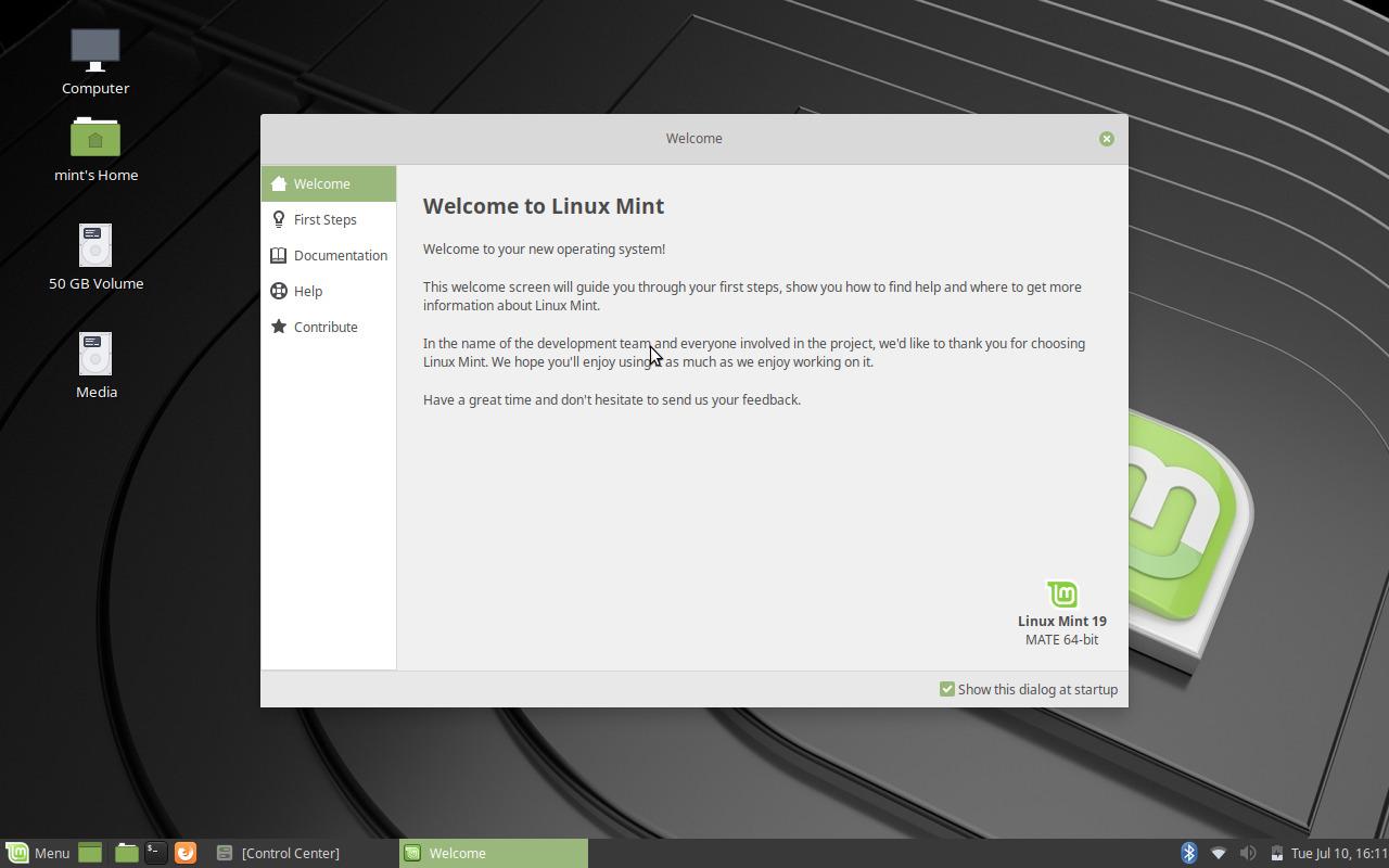 linux mint mate 19