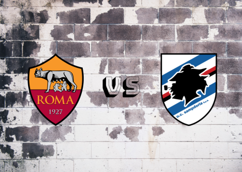 Roma vs Sampdoria  Resumen