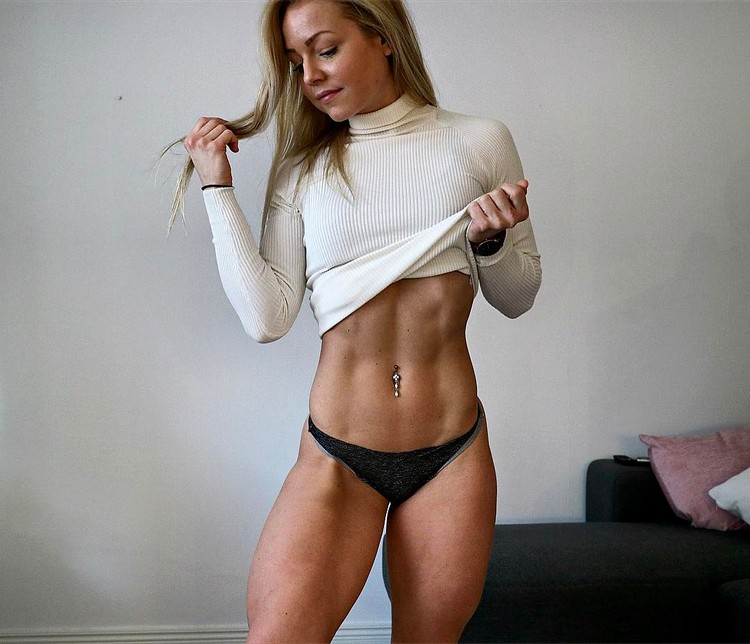 Swedish Fitness Model Denice Moberg 6