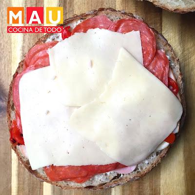sandwich facil y economico