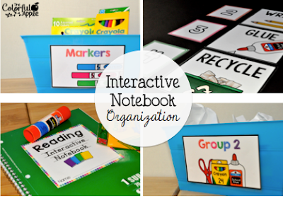 Interactive notebooks are a great education tool for teaching all subjects - math, reading, science and even social studies! Keeping them organized can be tricky though. Check out these tips to keep your interactive notebooks running smoothly!