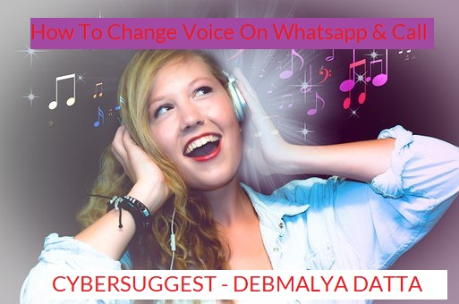 How To Change Voice On Whatsapp & Call