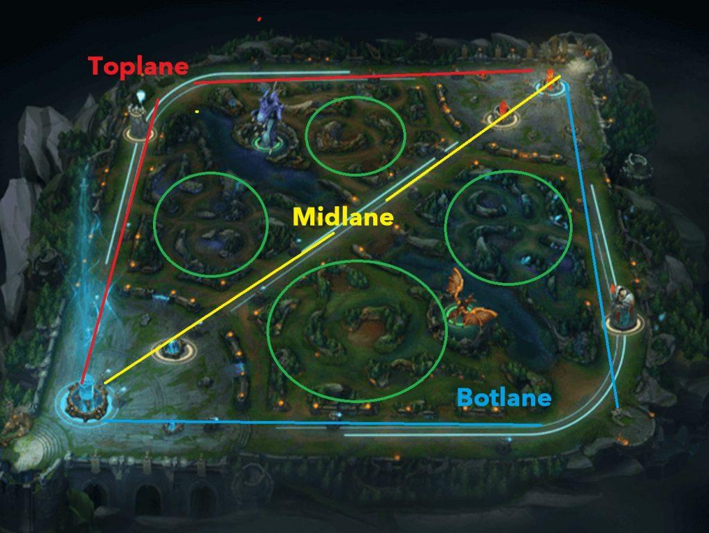 lol Wild Rift map
