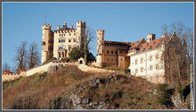 Castillo de Hohenschwangau Baviera (Alemania)