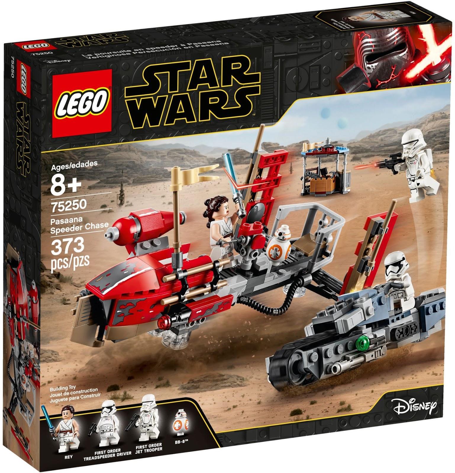LEGO 75250 パサーナ・スピーダー・チェイス