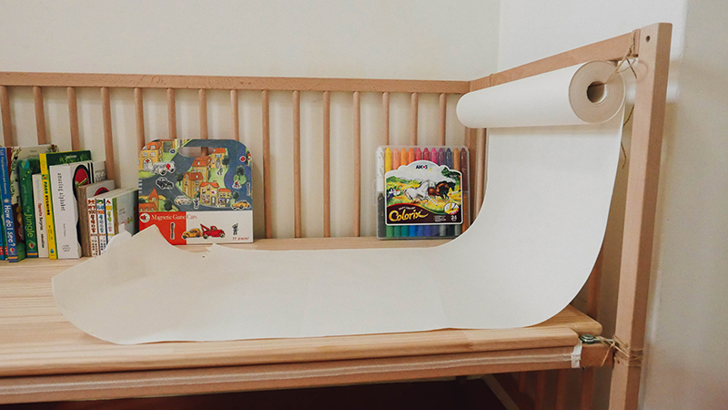【手作】IKEA嬰兒床改造書桌 | Rabbit + Design = Life