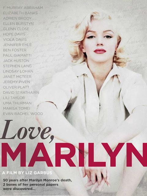 Marilyn Monroe documentário capa