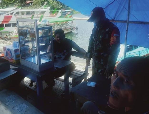 Edukasi Covid-19, Personel Jajaran Kodim 0207/Simalungun Berikan Himbauan Patuhi Protkes Pada Warga Binaan