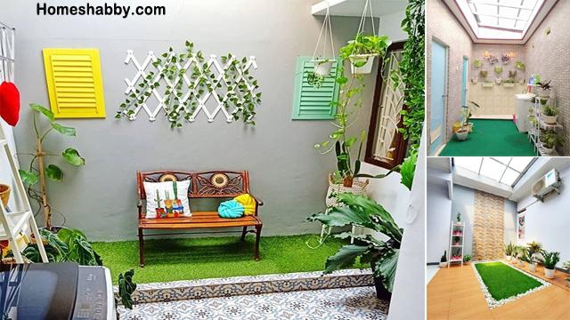 Inspirasi Desain Halaman Belakang Rumah Type 36 Homeshabby Com Design Home Plans Home Decorating And Interior Design