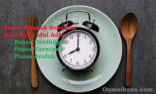 Puasa Sunnah Sebelum Idul Adha