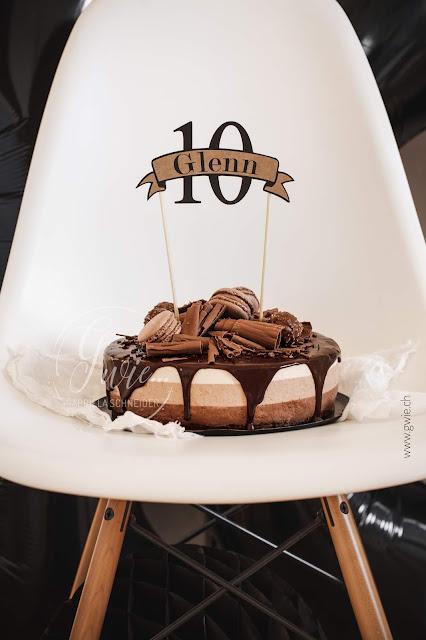 schokoladen-quarktorte, quarktorte, schokoladenquarktorte, caotina, drippcake, 10. geburtstag