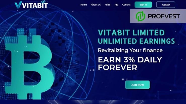 Vitabit обзор и отзывы HYIP-проекта