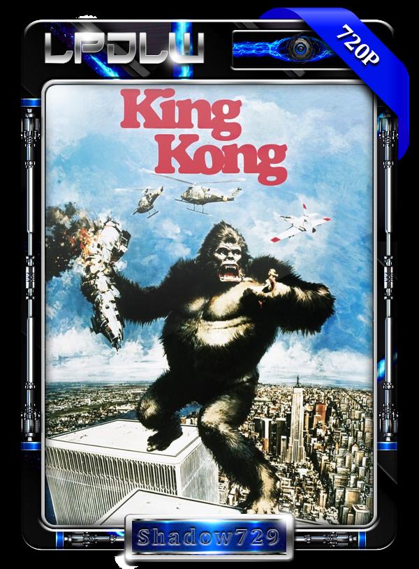 King Kong (1976) 1080p H264 Dual [Clásica de Culto]