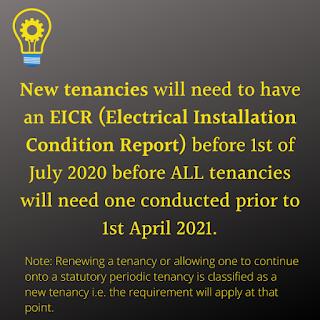 EICR update