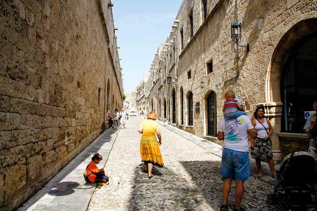 Yunanistan'ın Rodos Adası'nda gezilecek yerler