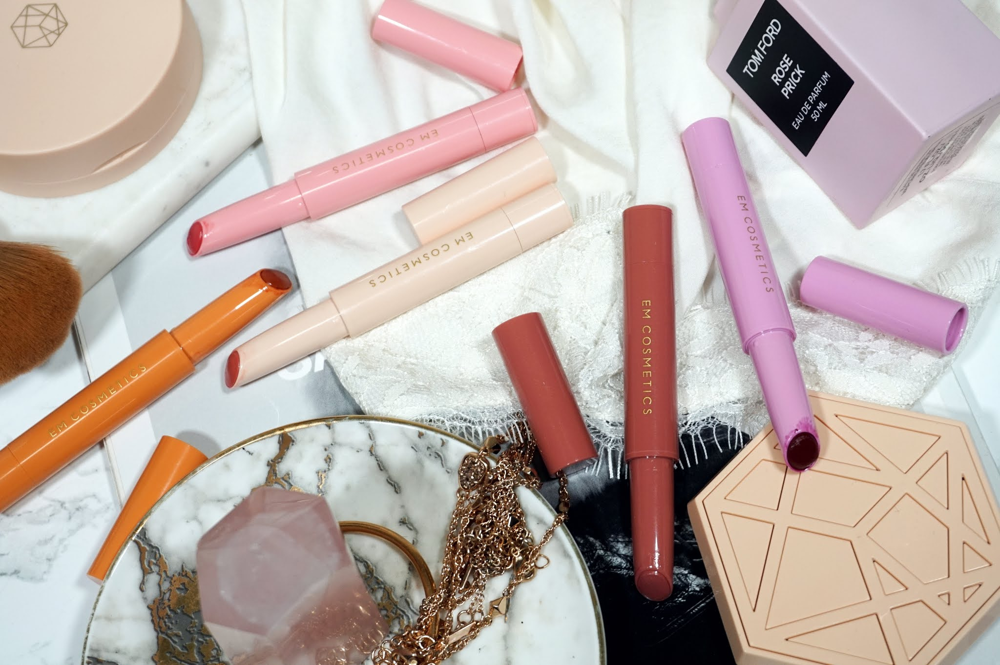 Em Cosmetics Lip Cushion Tinted Lip Luminizer Review and Swatches