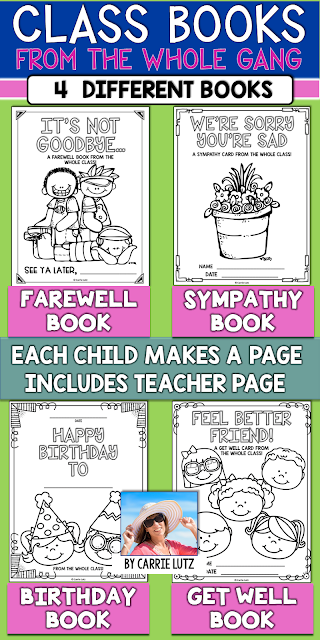 https://www.teacherspayteachers.com/Product/BOOKS-FROM-THE-WHOLE-CLASS-Birthday-Farewell-Get-Well-and-Sympathy-3452125?aref=mfncmsef