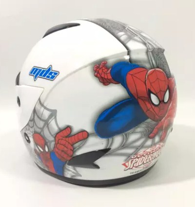 Helm Anak Karakter Spiderman