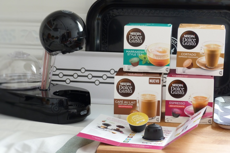 Cafetera nueva en mi cocina: Nescafé Dolce Gusto Stelia