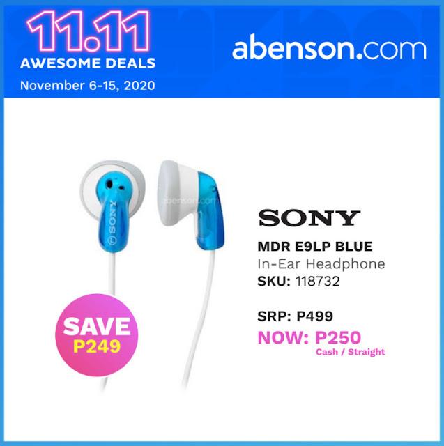 Abenson.com Sony Earphones
