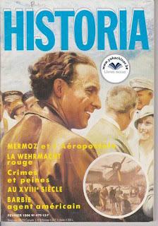 Revue Historia, 470 1986