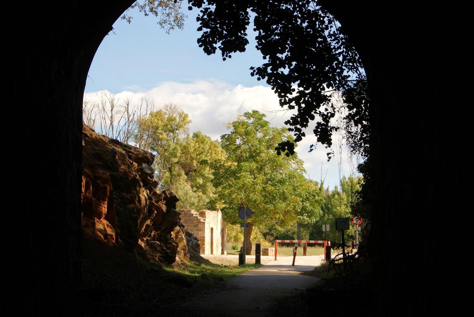 Túnel Sierra Norte de Sevilla