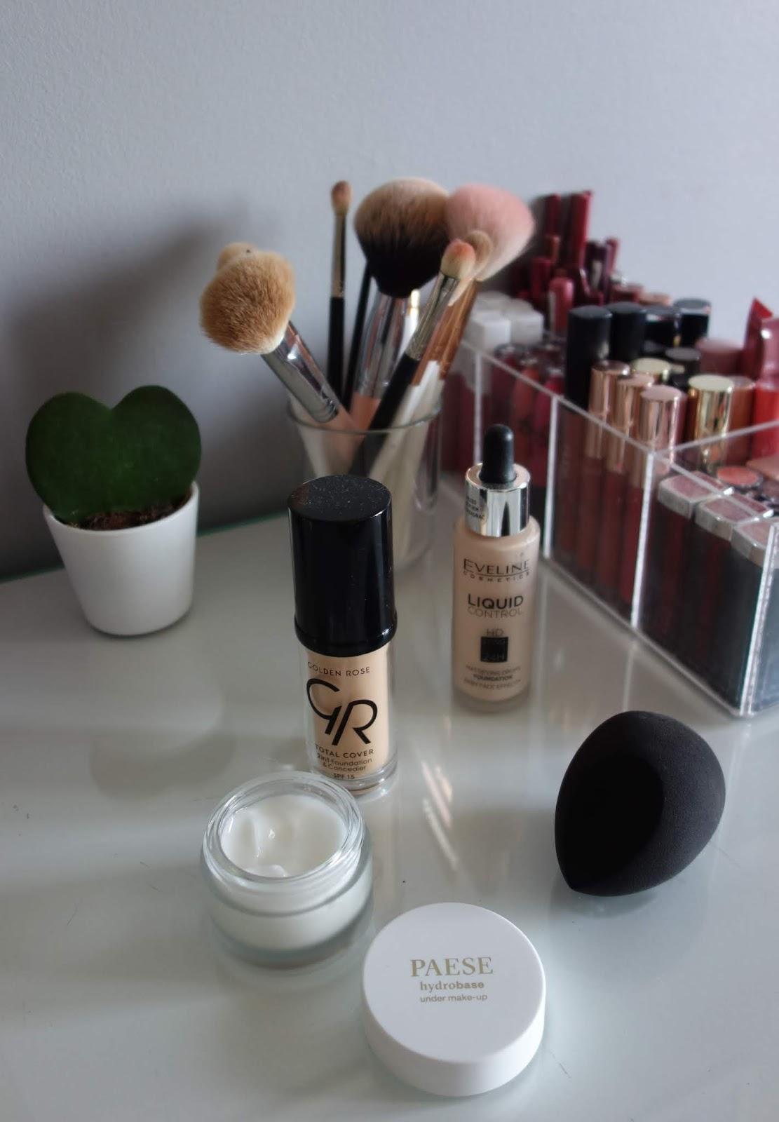 Mój makijaż dzienny i ulubione kosmetyki | wersja jesień 2019