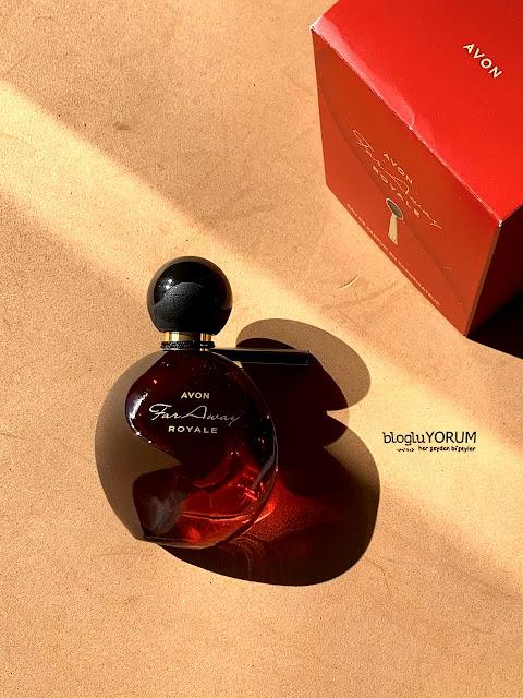 avon far away royale kadın parfüm kullananlar