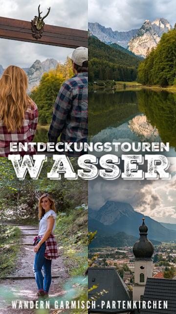 Entdeckungstouren Wasser Aulealm - Riessersee Runde + Die kleine Wank-Runde  Wandern Garmisch-Partenkirchen 20