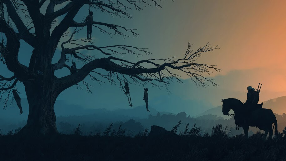 Geralt, The Witcher, Minimalist, 4K, #6.2513