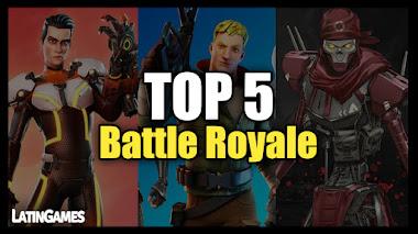 Top 5 Videojuegos del Genero Battle Royale en la actualidad