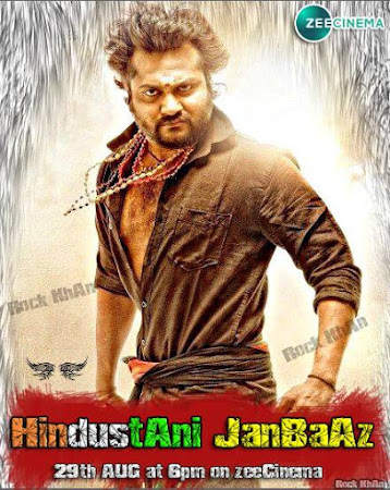 Poster Of Hindustani jaanbaaz In Hindi Dubbed 300MB Compressed Small Size Pc Movie Free Download Only At worldfree4u.com