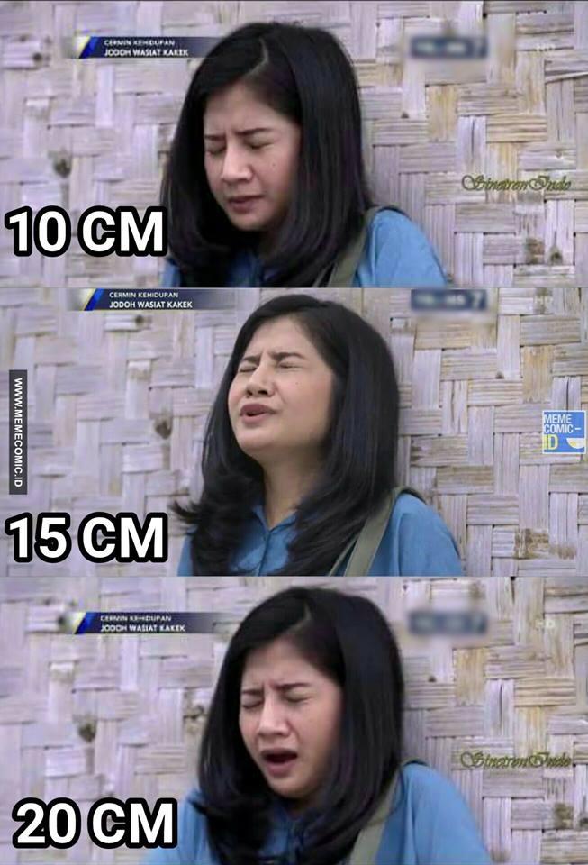 5 Meme 'Ekspresi Tertusuk 10, 15, 20 cm' Ini Kocaknya ...