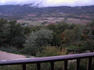 vista do quarto da Pousada do Convento em Belmonte