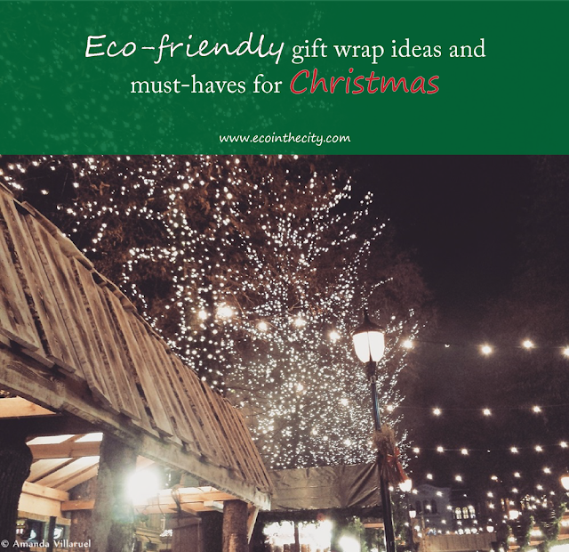 Eco-friendly gift wrap ideas and must-haves for Christmas