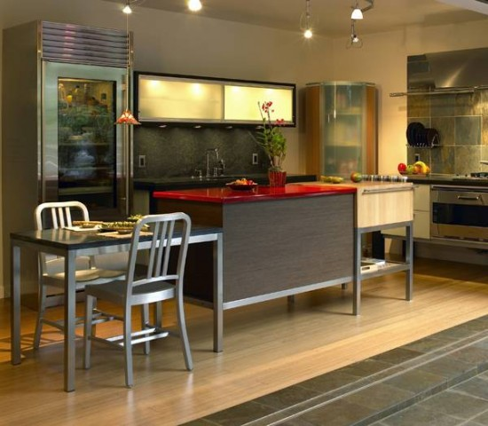 Modern Furniture: Asian Kitchen Designer By Troy Adams