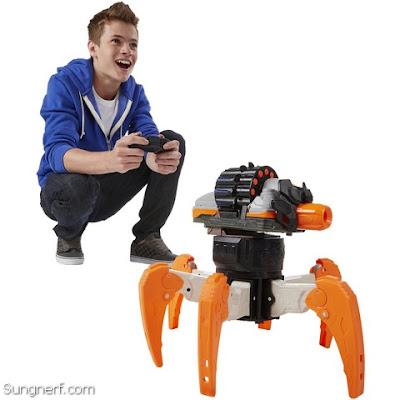 Nhện robot Nerf