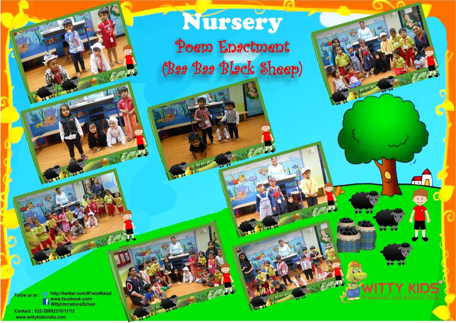 On The Top Of The World Rhyme Enactment By Nursery