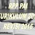 RPP PAI SD Kurikulum 2013 Revisi 201