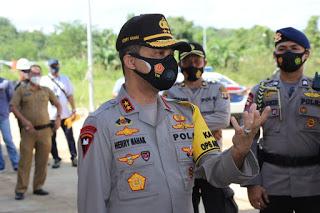 Kunjungi SPN di Kukar, Berikut Penekanan Kapolda Kaltim
