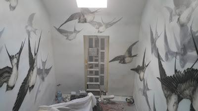 Malarstwo ścienne, artystyczne malowanie ścian, malowanie obrazów na ścianach 3D, obrazy wielkoformatowe