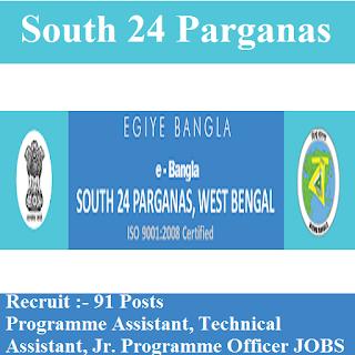 MGNREGA, South 24 Parganas, West Bengal, WB, 12th, Programme Assistant, freejobalert, Sarkari Naukri, Latest Jobs, south 24 parganas logo