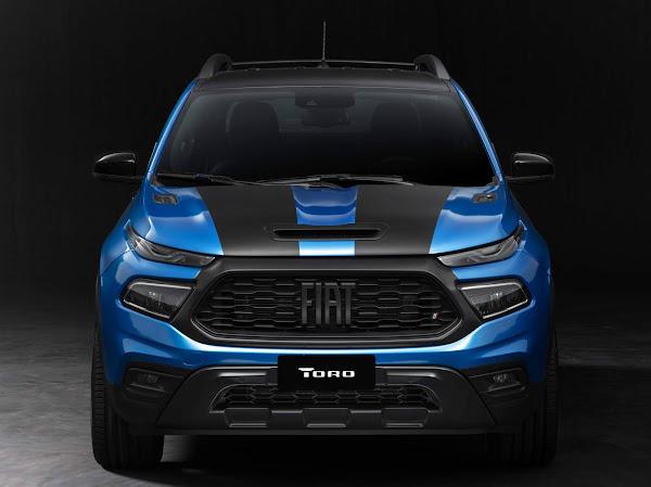 Nova Fiat Toro 2022 Ultra rebaixada com rodas 20 recebe acessórios Mopar