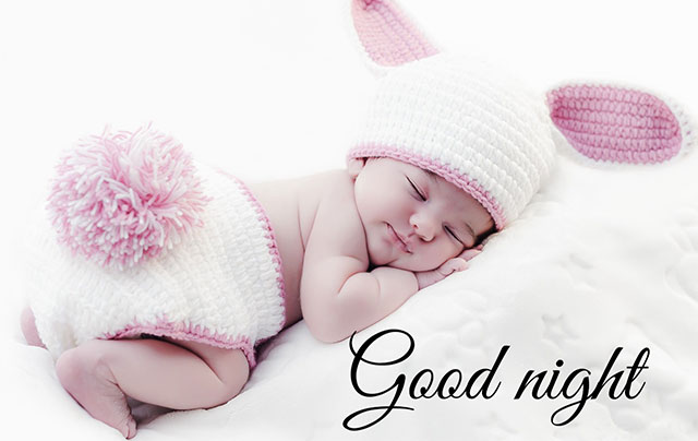sweet baby  good night images