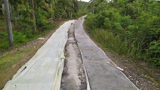 Pembangunan Cor Jalan Dusun Purnajaya RT 02/RW 07 Tahun Anggaran 2020