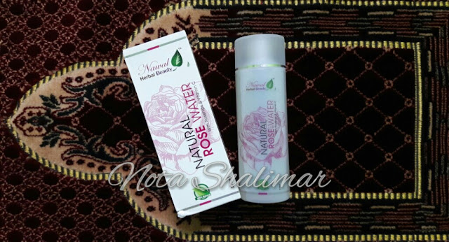 NATURAL ROSE WATER BY NAWAL HERBAL BEAUTY