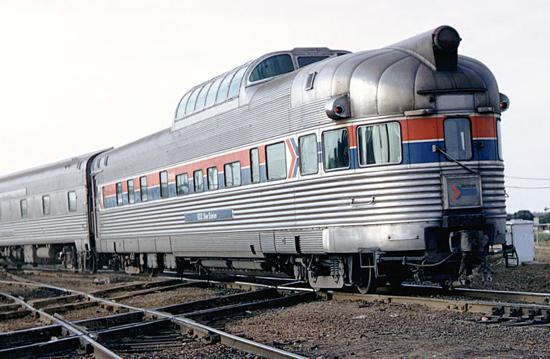 Amtrak Silver Solarium 1971