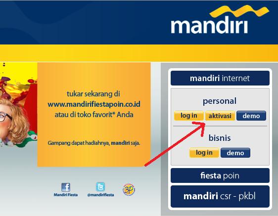 CARA DAFTAR MANDIRI INTERNET BANKING BANK MANDIRI | Mega Droid