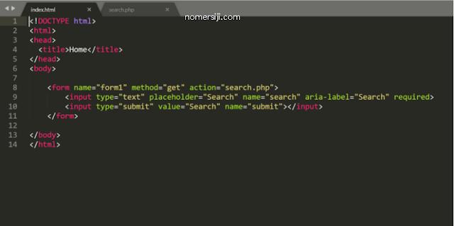 Membuat Form HTML
